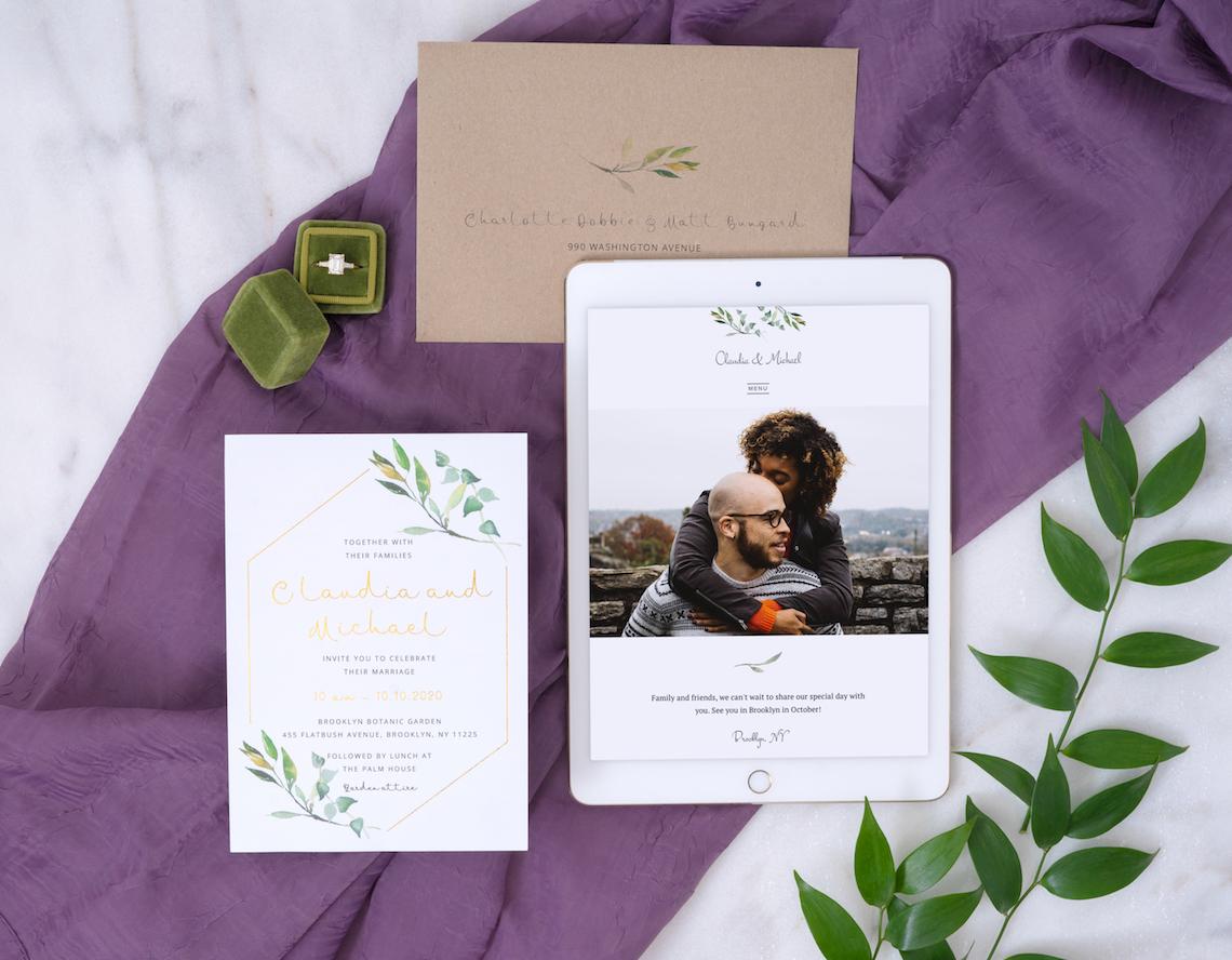 Creating a Wedding Website in 2020 – Joy – Bridal Musings – Garden Window – 3