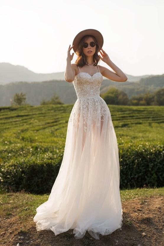 Feminine Simple Minimalistic Wedding Dresses by Mila Bridal 2020 2021 – Bridal Musings 17