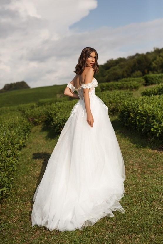 Feminine Simple Minimalistic Wedding Dresses by Mila Bridal 2020 2021 – Bridal Musings 2