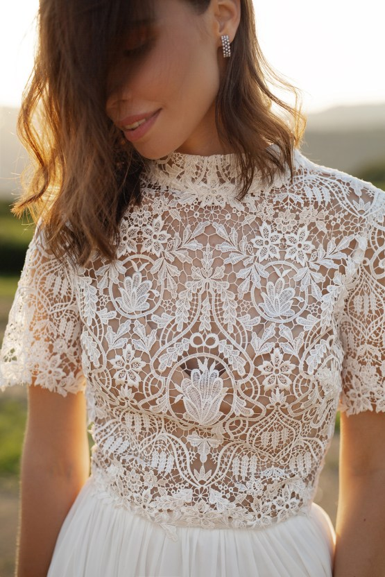 Feminine Simple Minimalistic Wedding Dresses by Mila Bridal 2020 2021 – Bridal Musings 26