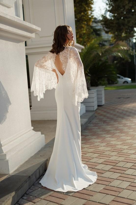Feminine Simple Minimalistic Wedding Dresses by Mila Bridal 2020 2021 – Bridal Musings 33