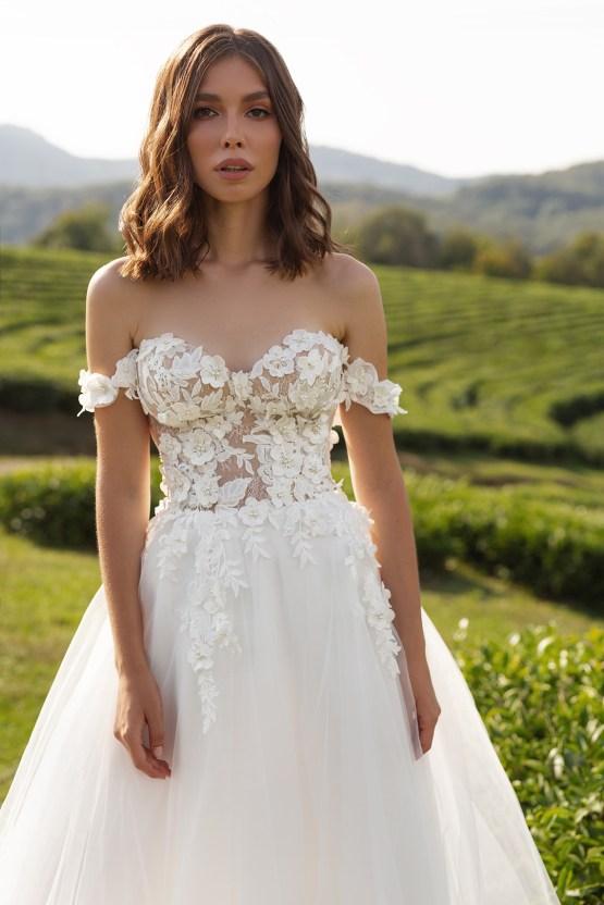 Feminine Simple Minimalistic Wedding Dresses by Mila Bridal 2020 2021 – Bridal Musings 4