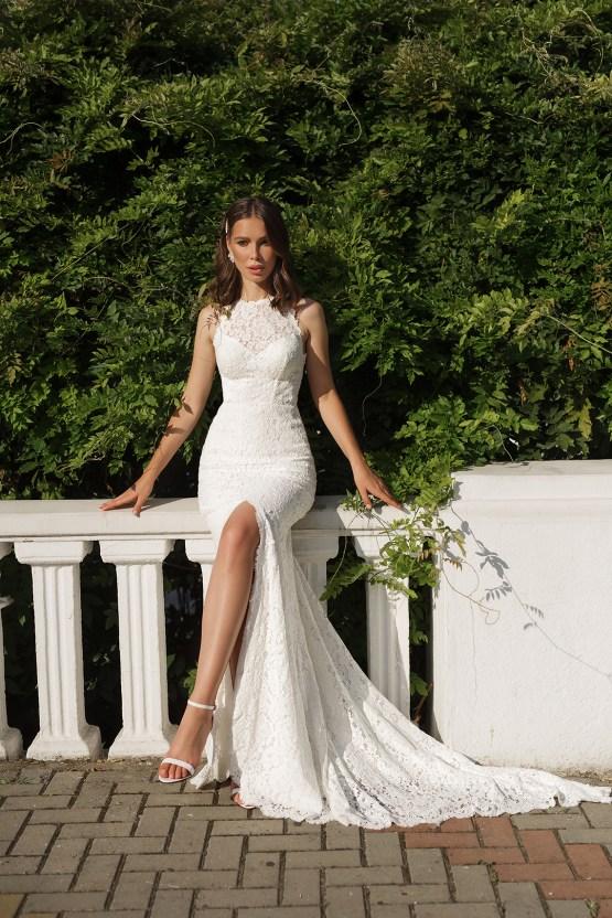 Feminine Simple Minimalistic Wedding Dresses by Mila Bridal 2020 2021 – Bridal Musings 47