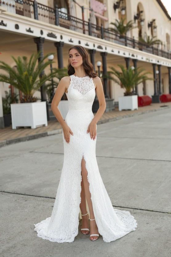 Feminine Simple Minimalistic Wedding Dresses by Mila Bridal 2020 2021 – Bridal Musings 48