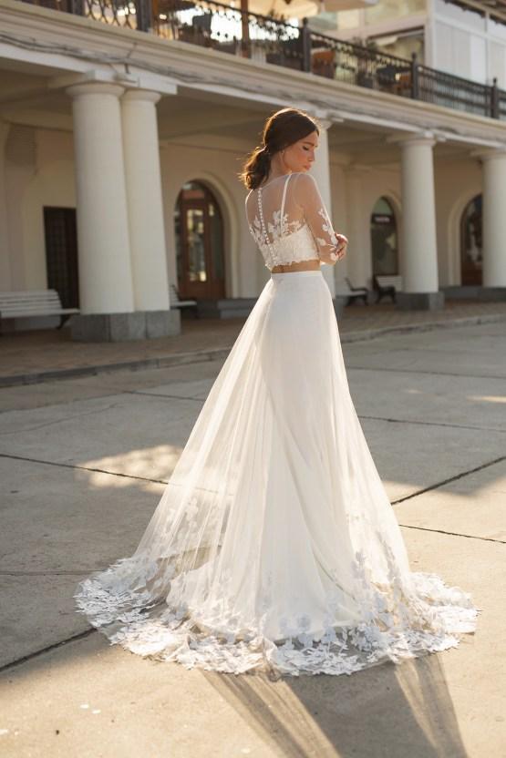 Feminine Simple Minimalistic Wedding Dresses by Mila Bridal 2020 2021 – Bridal Musings 55