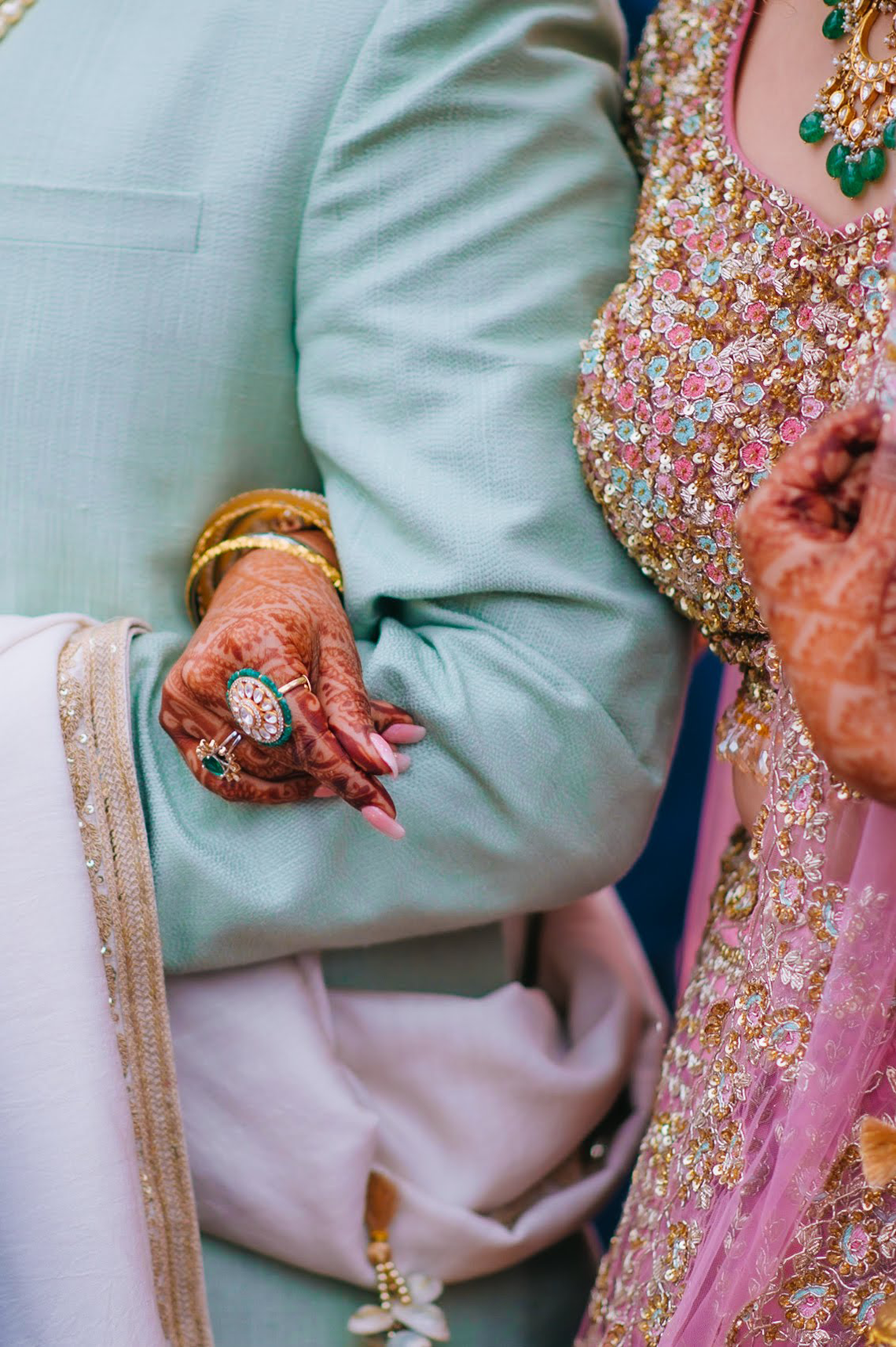 Gorgeous and Joyous Traditional Indian Wedding – Beginnings For You Photography 37
