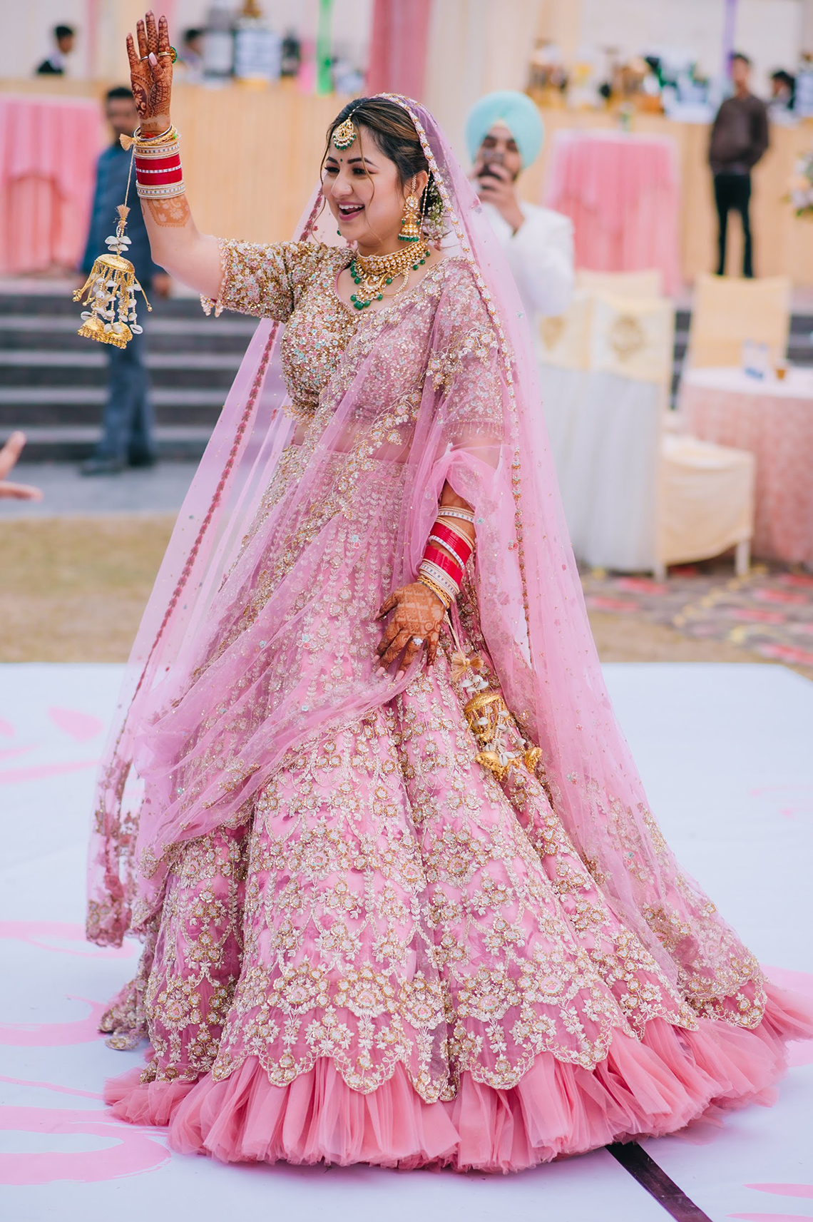 Gorgeous and Joyous Traditional Indian Wedding – Beginnings For You Photography 50