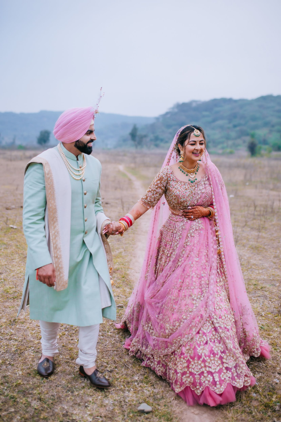 Gorgeous and Joyous Traditional Indian Wedding – Beginnings For You Photography 54