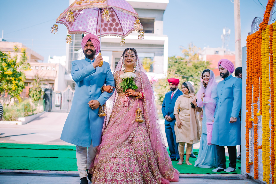 Gorgeous and Joyous Traditional Indian Wedding – Beginnings For You Photography 65