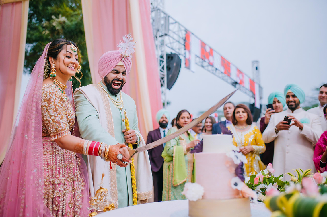 Gorgeous and Joyous Traditional Indian Wedding – Beginnings For You Photography 68