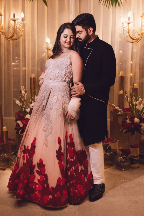 Gorgeous and Joyous Traditional Indian Wedding – Beginnings For You Photography – The Sangeet 9