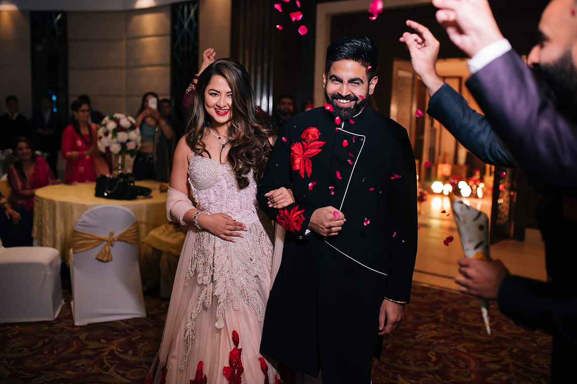 Gorgeous and Joyous Traditional Indian Wedding – Beginnings For You Photography – The Sangeet