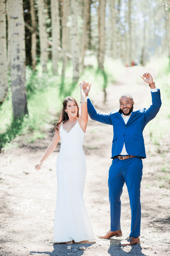Intimate Enchanting Forest Elopement in Park City Utah – Gabriella Santos Photography 23