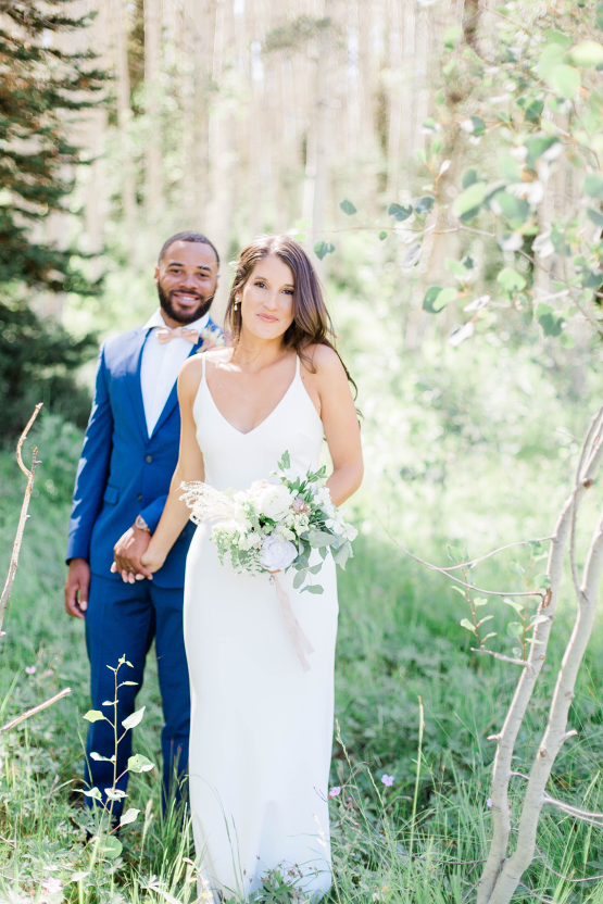 Intimate Enchanting Forest Elopement in Park City Utah – Gabriella Santos Photography 29
