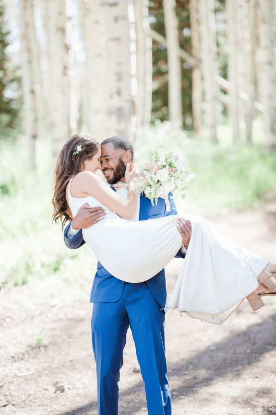 Intimate Enchanting Forest Elopement in Park City Utah – Gabriella Santos Photography 31