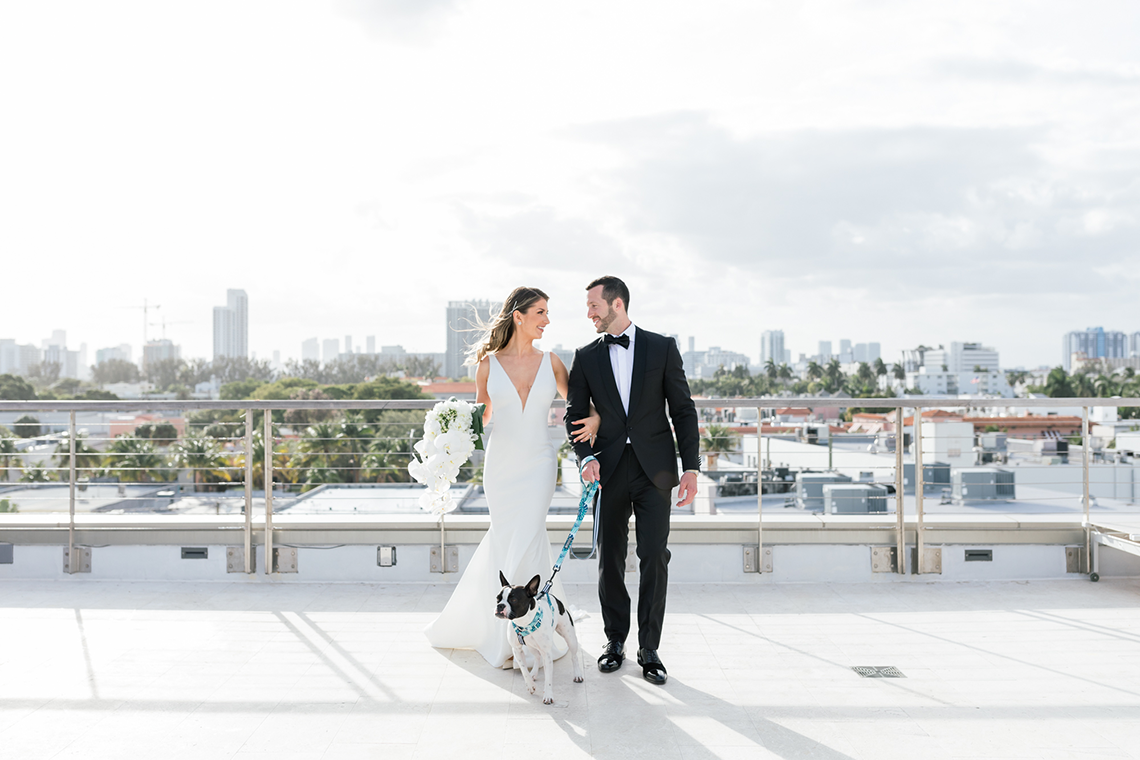 Modern Luxury Rooftop Wedding in Miami Beach – Erica Melissa Photography 3