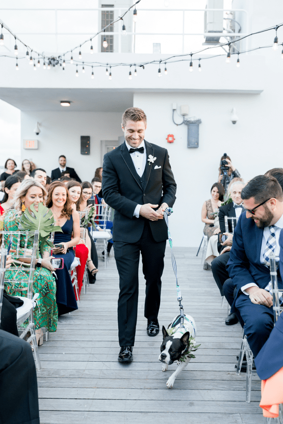 Modern Luxury Rooftop Wedding in Miami Beach – Erica Melissa Photography 30