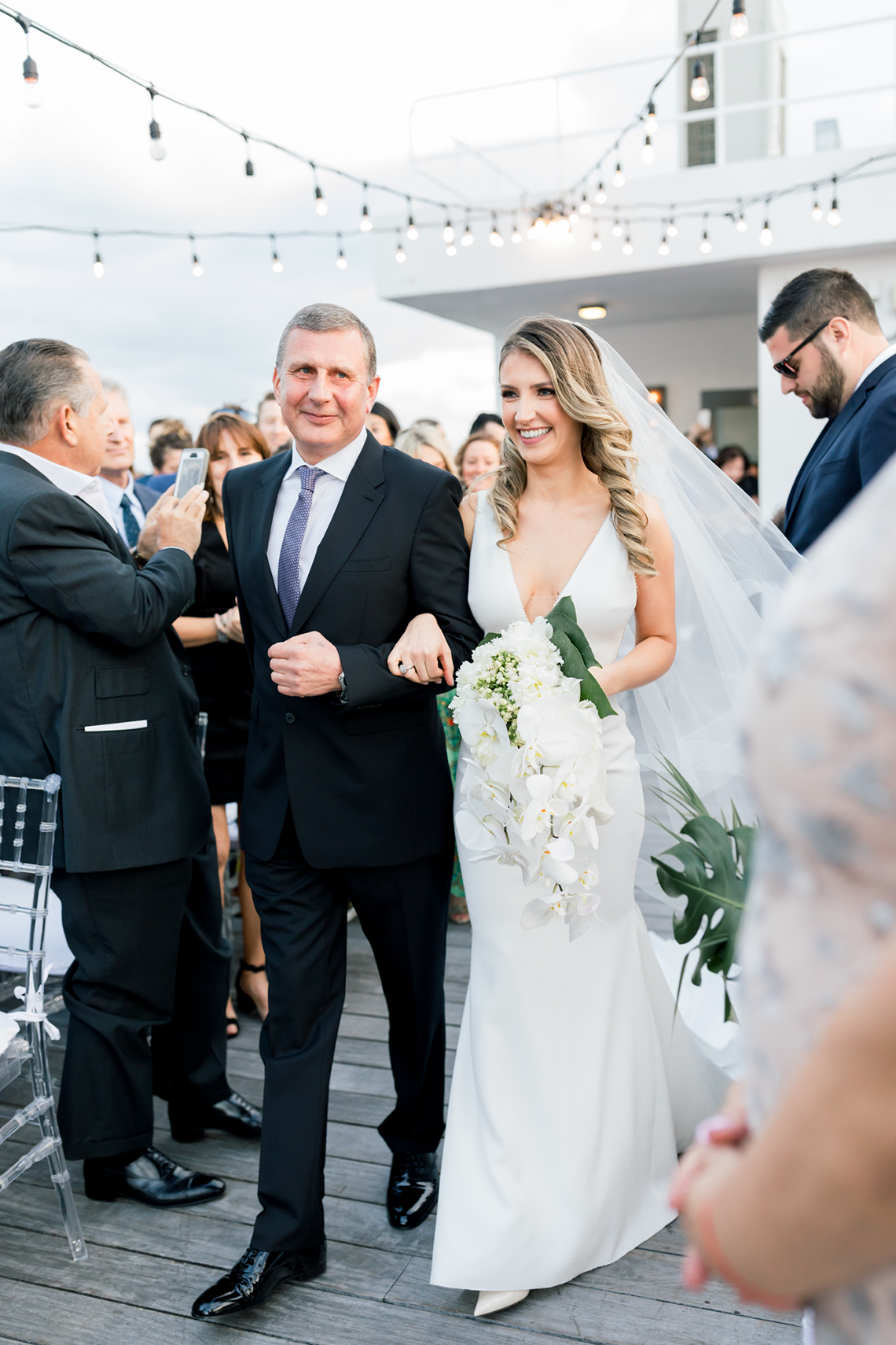 Modern Luxury Rooftop Wedding in Miami Beach – Erica Melissa Photography 31
