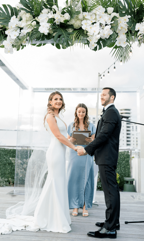 Modern Luxury Rooftop Wedding in Miami Beach – Erica Melissa Photography 32