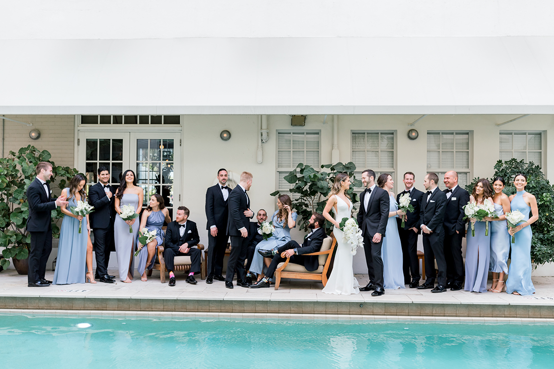 Modern Luxury Rooftop Wedding in Miami Beach – Erica Melissa Photography 4