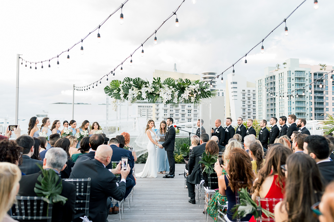 Modern Luxury Rooftop Wedding in Miami Beach – Erica Melissa Photography 6