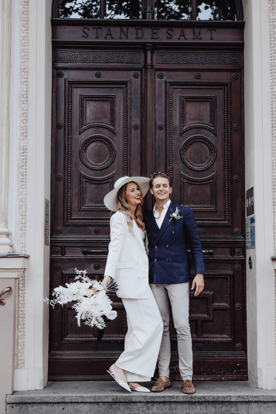 Stylish Berlin Elopement Inspiration – Anastasia Conze Weddings and Events – Adela Dupetit von O Dear 18