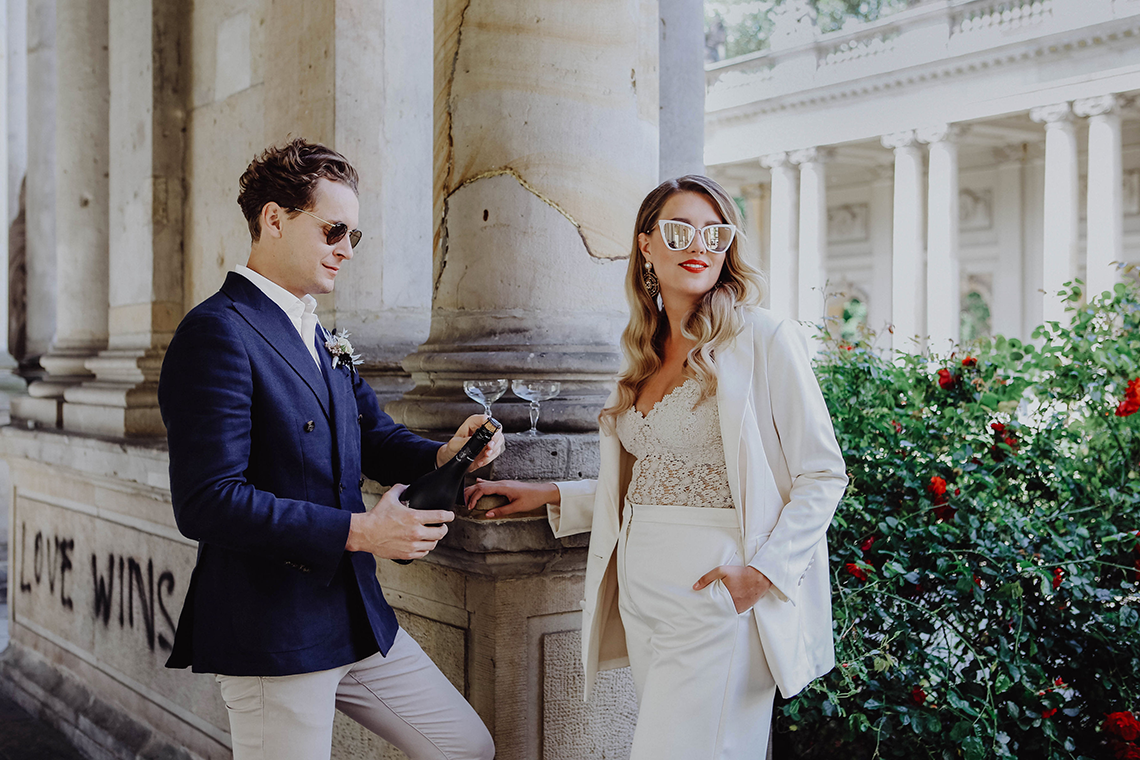 Stylish Berlin Elopement Inspiration – Anastasia Conze Weddings and Events – Adela Dupetit von O Dear 2
