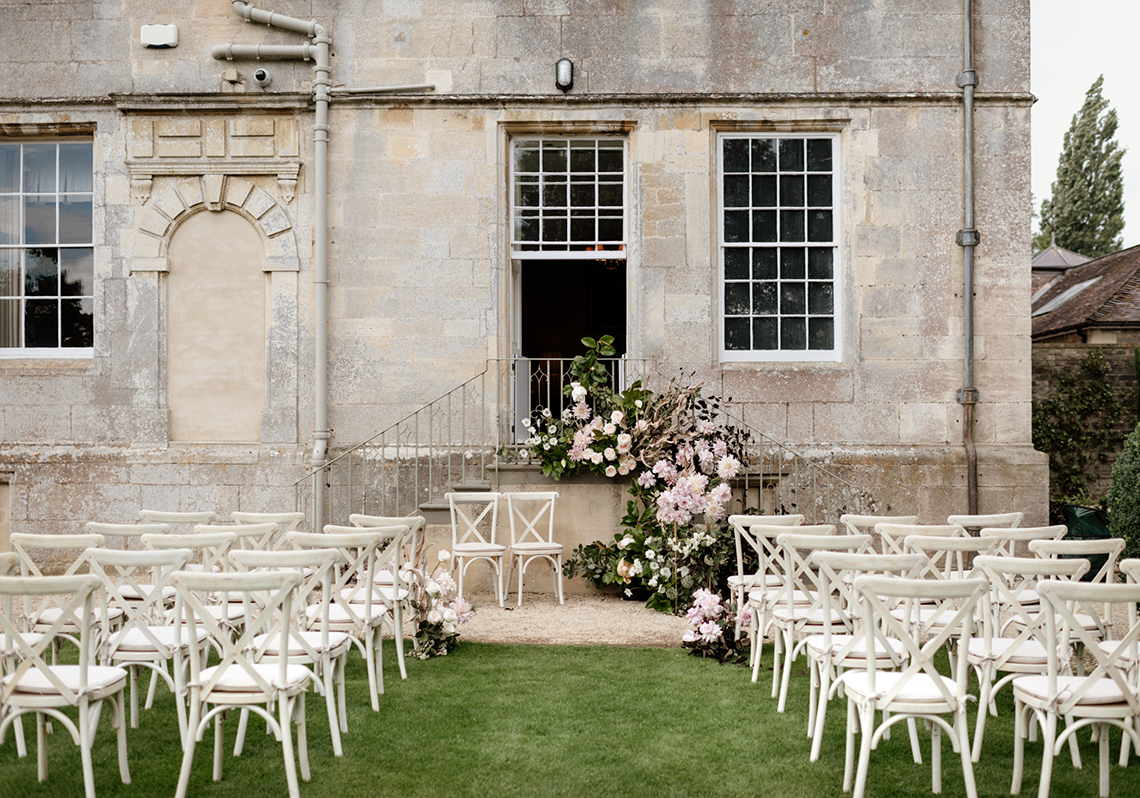 Fashion-forward Countryside Wedding Inspiration – Elmore Court – Laura Martha Photography 1