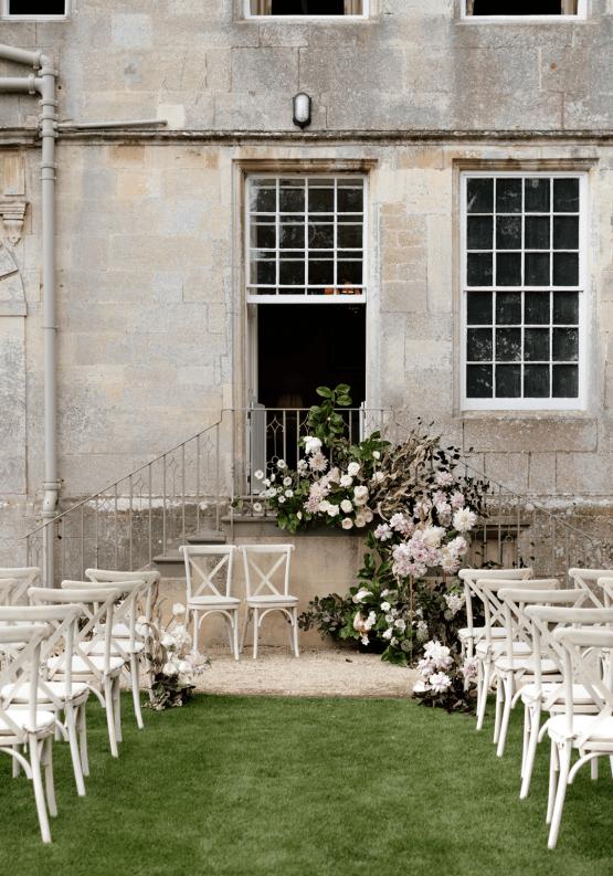 Fashion-forward Countryside Wedding Inspiration – Elmore Court – Laura Martha Photography 17
