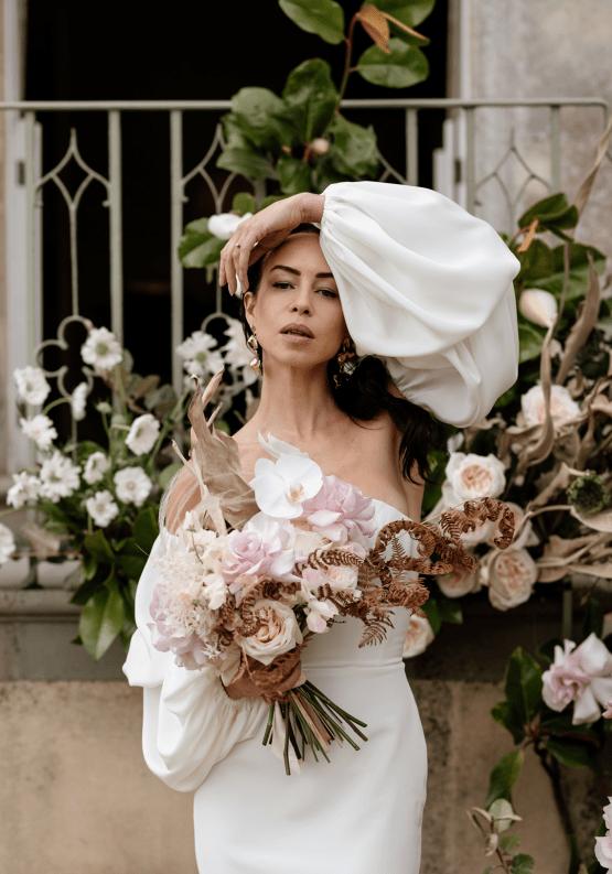 Fashion-forward Countryside Wedding Inspiration – Elmore Court – Laura Martha Photography 31