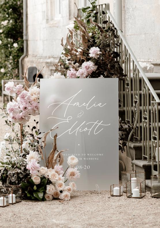 Fashion-forward Countryside Wedding Inspiration – Elmore Court – Laura Martha Photography 32