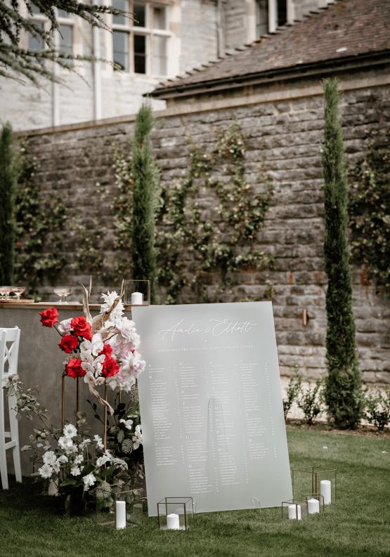 Fashion-forward Countryside Wedding Inspiration – Elmore Court – Laura Martha Photography 44