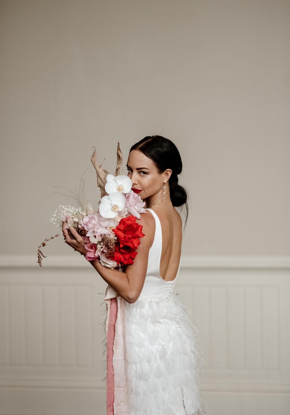 Fashion-forward Countryside Wedding Inspiration – Elmore Court – Laura Martha Photography 74