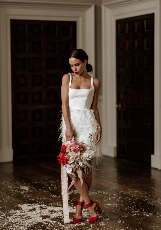 Fashion-forward Countryside Wedding Inspiration – Elmore Court – Laura Martha Photography 75