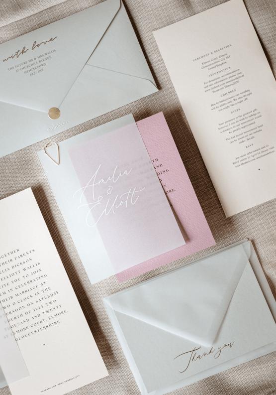 Fashion-forward Countryside Wedding Inspiration – Elmore Court – Laura Martha Photography 8