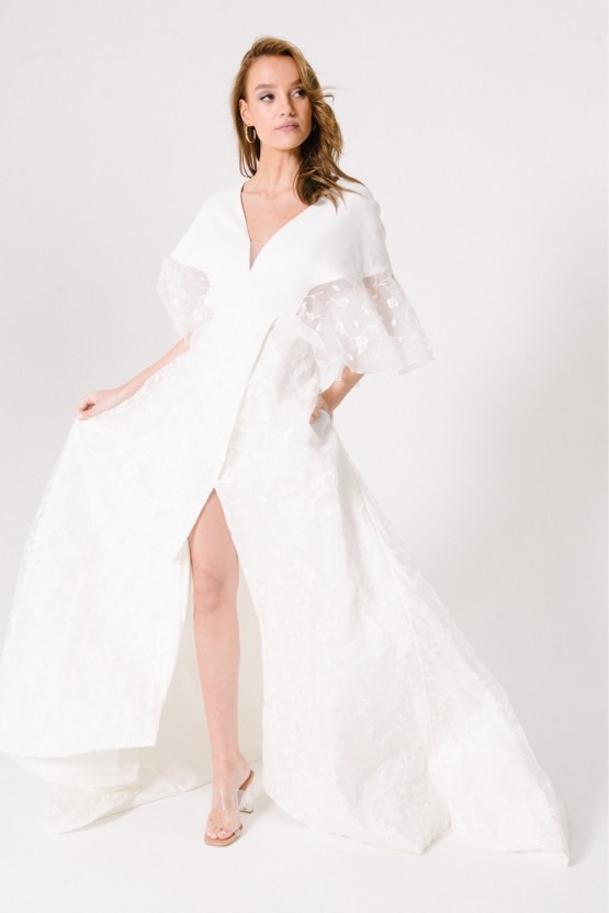 Les Aimants Customizable French Style Wedding Dress Collection – Bridal Musings 37