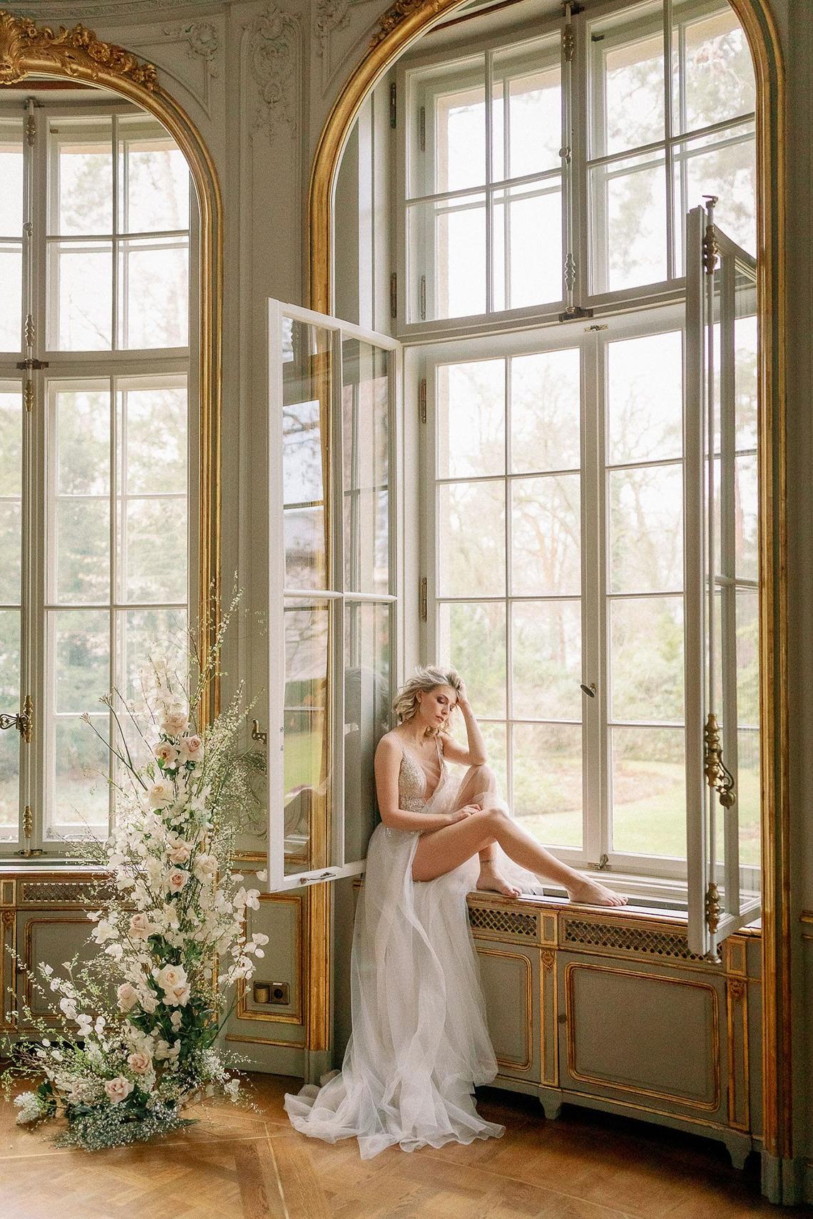Luxurious Same Sex Wedding Inspiration at Roccoco Palace – Miss Universe Germany – BERTA wedding dress – Vivid Symphony 51