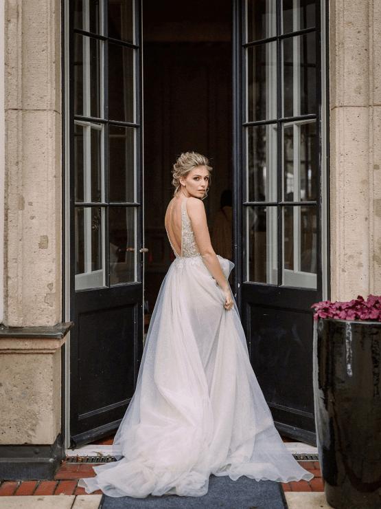 Luxurious Same Sex Wedding Inspiration at Roccoco Palace – Miss Universe Germany – BERTA wedding dress – Vivid Symphony 55