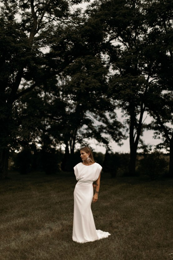 Modern and Fashion Forward 2021 Wedding Dresses by The LAW Bridal – Dylan