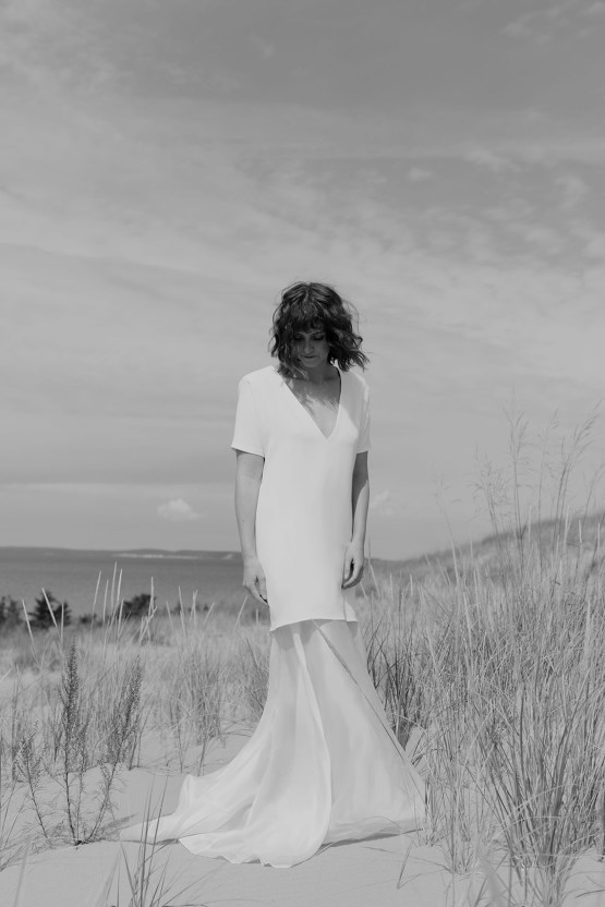 Modern and Fashion Forward 2021 Wedding Dresses by The LAW Bridal – Grey