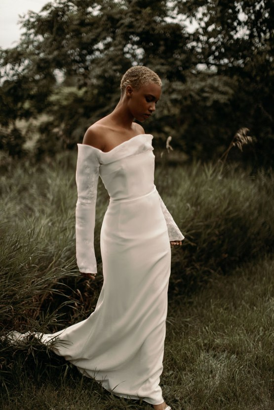 Modern and Fashion Forward 2021 Wedding Dresses by The LAW Bridal – Olsen