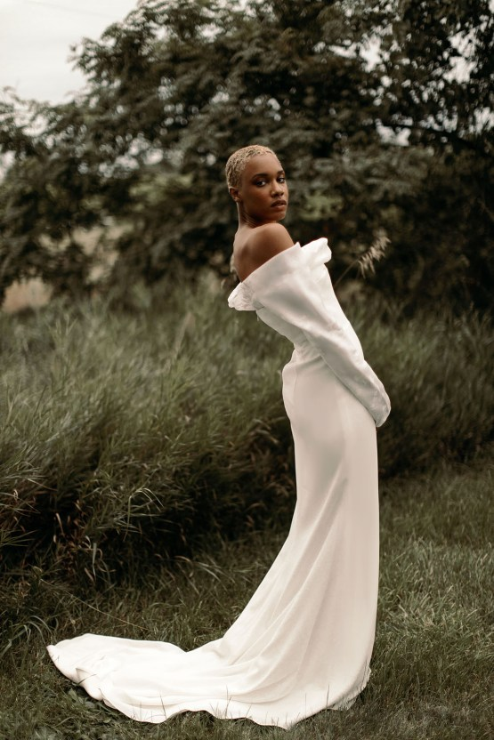 Modern and Fashion Forward 2021 Wedding Dresses by The LAW Bridal – Olsen Back