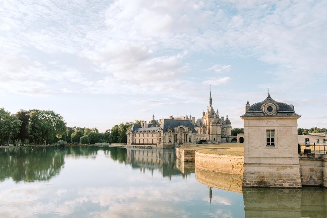 Princess Wedding Inspiration from France – Chateau Chantilly – Elizaveta Photography 10