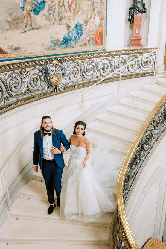 Princess Wedding Inspiration from France – Chateau Chantilly – Elizaveta Photography 22