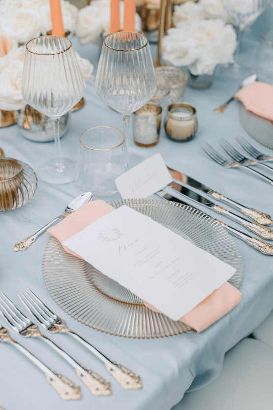 Princess Wedding Inspiration from France – Chateau Chantilly – Elizaveta Photography 37