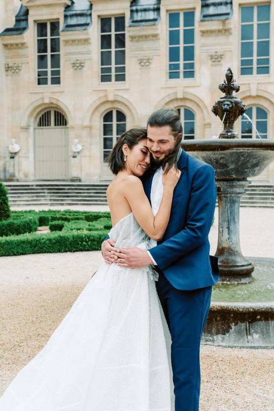 Princess Wedding Inspiration from France – Chateau Chantilly – Elizaveta Photography 44