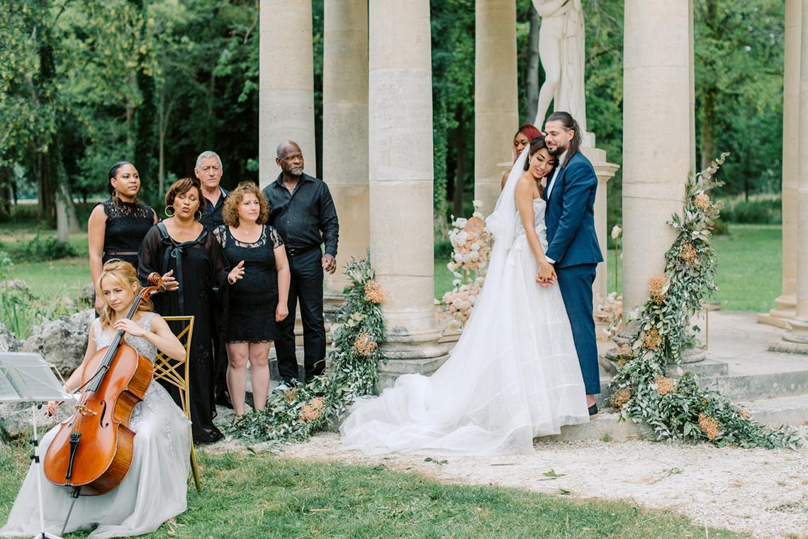 Princess Wedding Inspiration from France – Chateau Chantilly – Elizaveta Photography 9