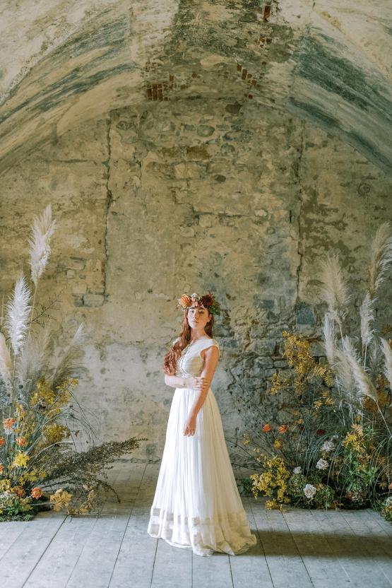 Rustic Vintage Bridal Inspiration in Tuscany Perfect for Fall Weddings – Antonis Prodromou – Villa Di Maiano 61