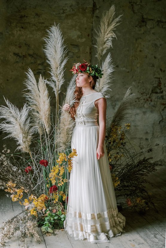 Rustic Vintage Bridal Inspiration in Tuscany Perfect for Fall Weddings – Antonis Prodromou – Villa Di Maiano 62