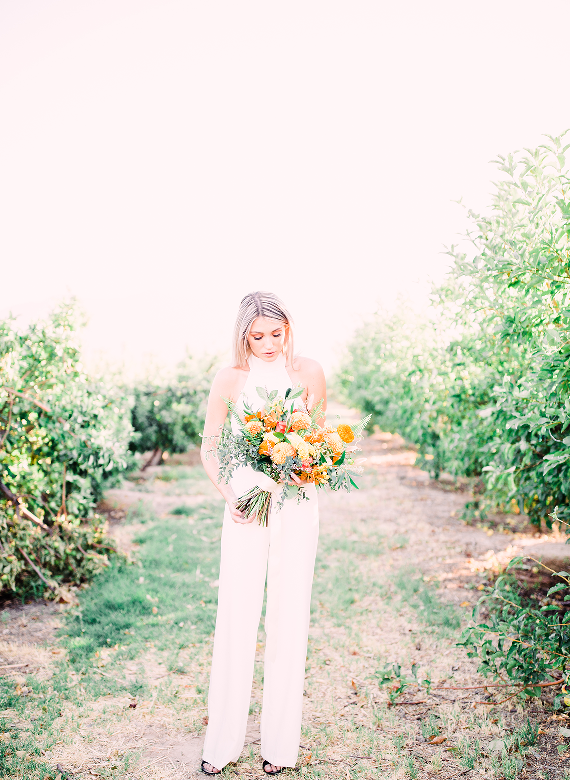 Same Sex Wedding Inspiration with Bright Citrus Decor – Alycia Moore Photography 16